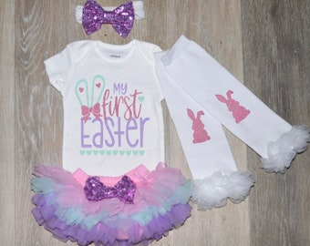 28c99be08599 First Easter Outfit | Baby Girl Easter Outfit | 1st Easter Outfit | Easter  Onesie | First Easter Shirt | Easter for Newborns