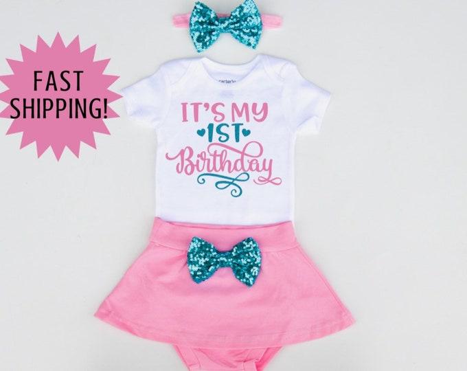 Girl Birthday Outfit Girl 1st Birthday Shirt 1st Birthday Outfit Girl Girl First Birthday Outfit Girl 1st Birthday Outfit