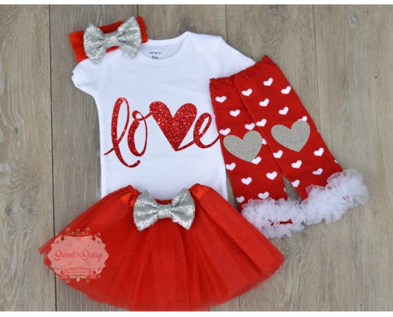 Baby Valentines Day Outfit Baby Girl Valentine Shirt My Etsy