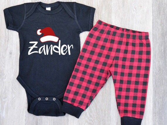 fe6825c51 Baby Boy Christmas Outfit Boys 1st Christmas Outfit