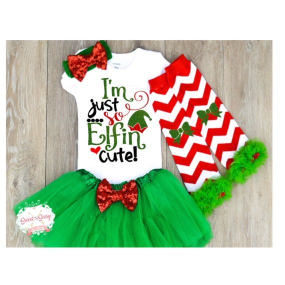 Cute Christmas Outfits.Christmas Outfit Baby Girl Baby First Christmas Cute Baby Christmas Outfit Headband Leggings And Tutu Optional Z12