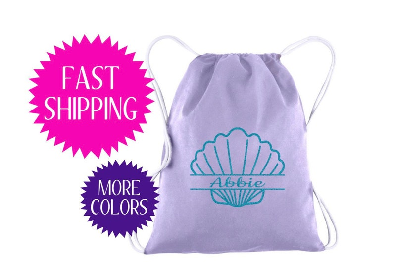71b6f93b6821 Kids Swim Bag Kids Pool Bag Girls Pool Bag, Girls Beach Bag, Seashell Bag,  Birthday Party Favors Pool Bag Personalized