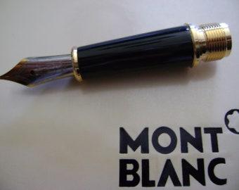 Parts Replacement Pen Nib 14K Gold Trim Montblanc for 144 Fountain pen