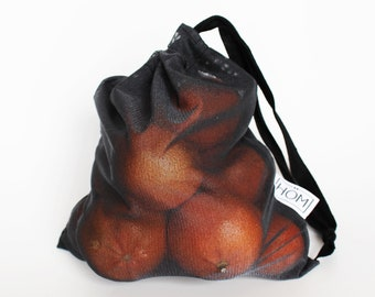 Bag for fruits and vegetables - black (small)