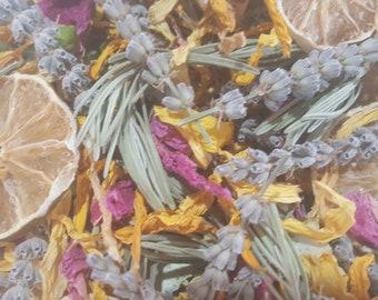 Potpourri, Lavender, Lavender Potpourri, Natural Potpourri, Citrus potpourri, Lime slices, Mother's day, Summer Potpourri