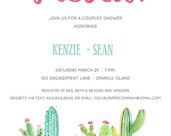 Fiesta Couples Shower Invitation