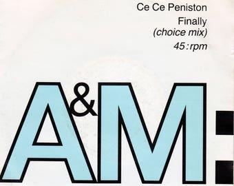"""Ce Ce Peniston - Finally 7"""" single"""