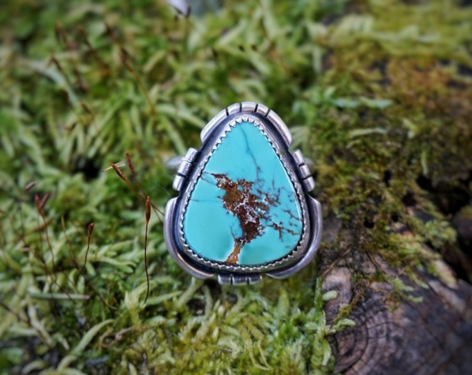 Royston Turquoise River Ring