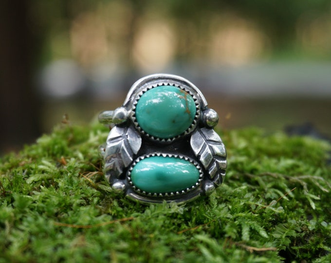 Royston Turquoise Nature Ring
