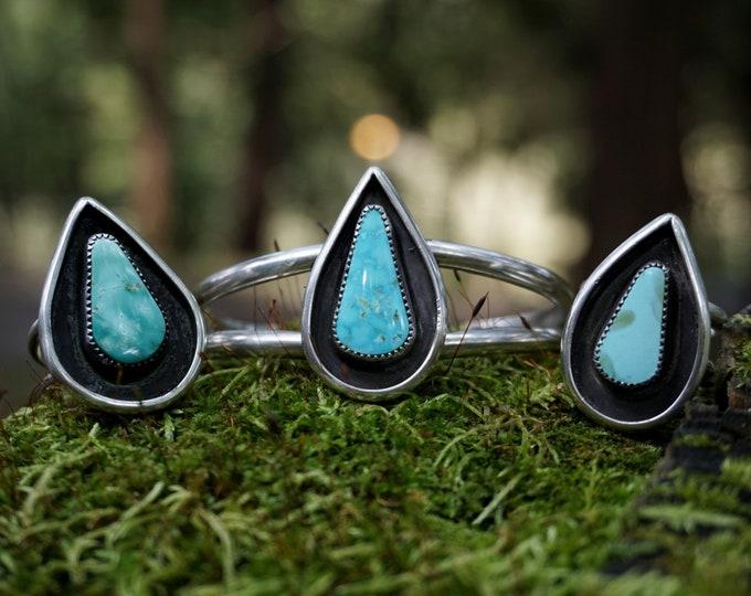 Turquoise Yoni Shield Cuff