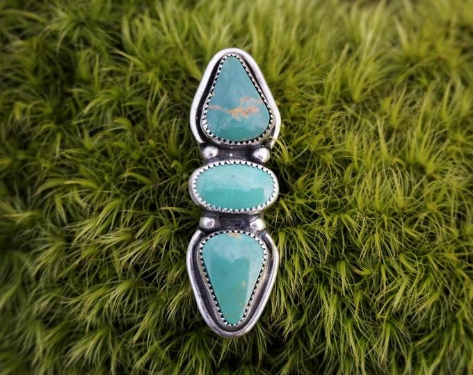 Green Goddess Turquoise Pendant