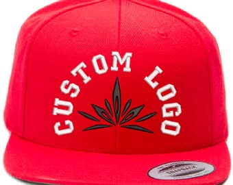 2b09728e1f6 6-Pack Custom Embroidery Premium Snapback with 3D Puff Embroidery (Yupoong  Classics)