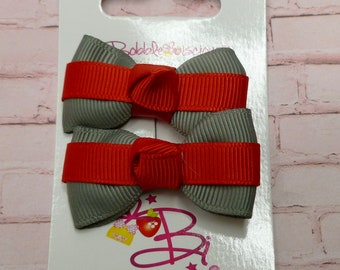 1 Inch Itty Bitty Lilly Bows Itty Bitty Dog Bows Wigglebutt Bows Set of 3
