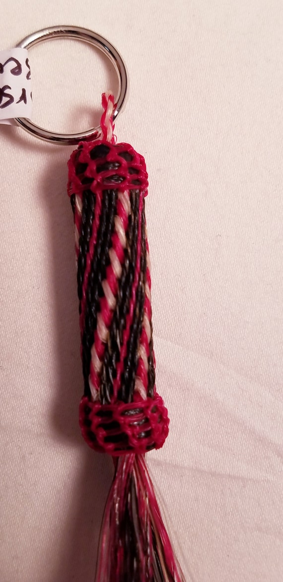1 Hand Braided Horse Hair Key Chain, 5 styles to choose from