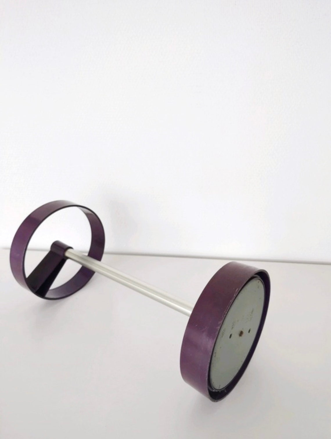 Space Age Umbrella Stand, Joe Colombo ERA, Purple, Vintage Entryway Furniture, Plastic design
