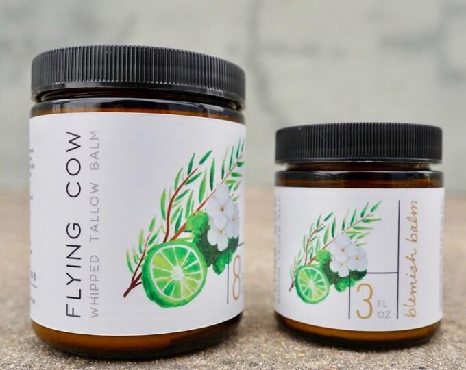 Featured listing image: Whipped Blemish Balm with Geranium, Tea Tree, and Bergamot