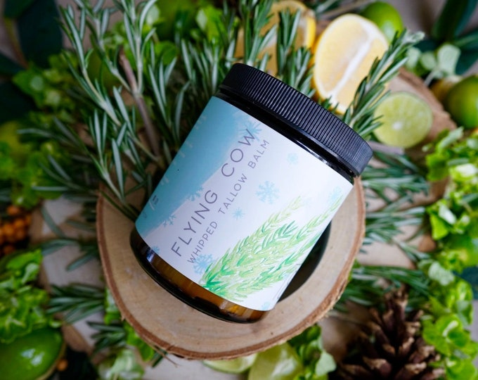 NEW! - Winter Breeze Tallow (Rosemary, Lemon, Lime)