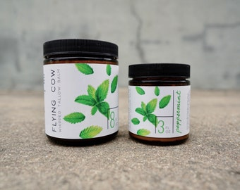 Whipped Peppermint Tallow