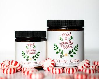 SALE! NEW! - Vanilla Mint Luxury Tallow