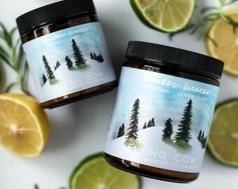SALE! It's Back!- Winter Breeze Tallow (Rosemary, Lemon, Lime)