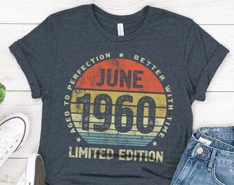 Aged to Perfection 1960 Vintage Year 60th Birthday Gift//Present Mens Pyjama Set