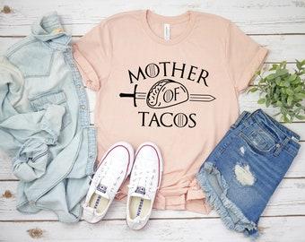 2f53bbdd Mother Of Tacos Shirt - Taco Shirt - Funny Women Tee - Taco Lover - Mimosa  Shirt - Drinking Tee - Mom Gift - Mom Shirt