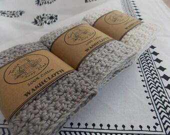 Washcloth - 100% cotton