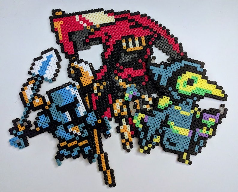 Shovel Knight / Plague Knight / Specter Knight from Ironing image 0