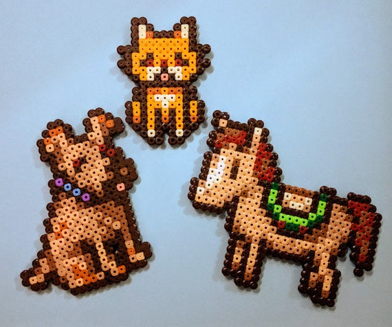 Animals Stardew Valley From Ironbeers Perler Magnets Etsy