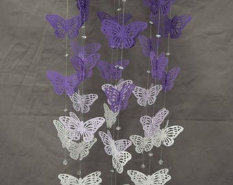 3D Butterfly Mobile