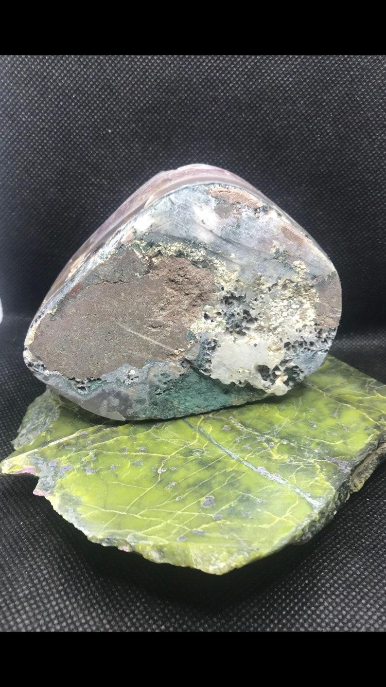 Polished Amethyst Crystal Specimen