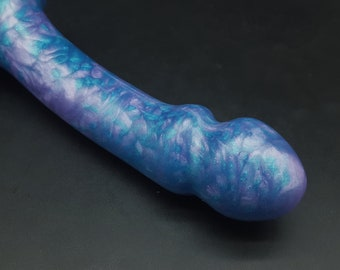 Element 2 Platinum Silicone Dildo (mature)