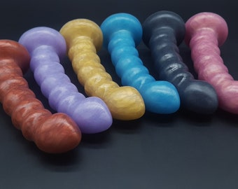 The Element 5 Platinum Silicone Dildo