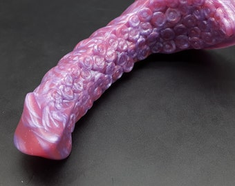 The Xenucephalic Tentacle Platinum Silicone Dildo  (mature)