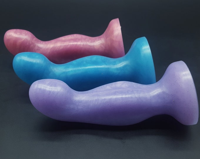 The Element 4 Platinum Silicone Dildo