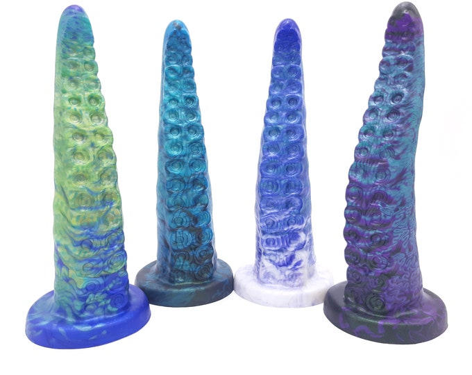 "The Teuthida 8"" Tentacle Dildo"