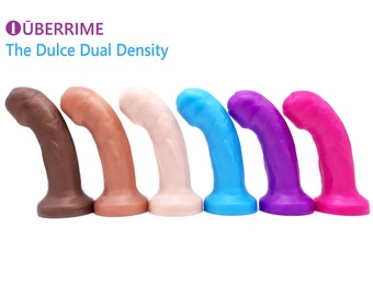 The Dulce - Uncut Dual Density Dildo