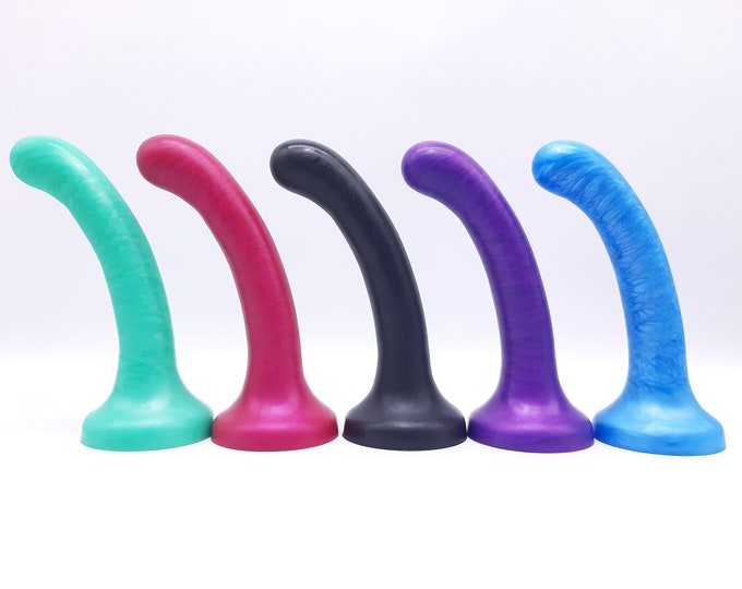 Element 1 Platinum Silicone Pegging Dildo