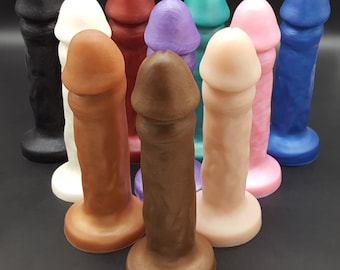 The Bella Soft SINGLE DENSITY Dildo