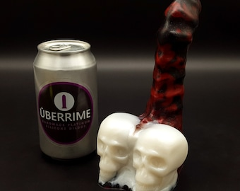 The Calaveras Skulls and Spine Halloween Dildo