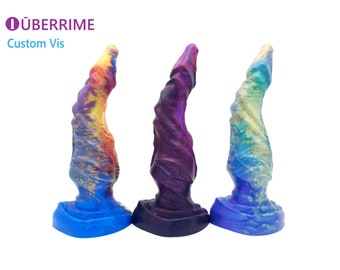 Custom Made to Order Vis - All seeing eye Themed Platinum Silicone Dildo
