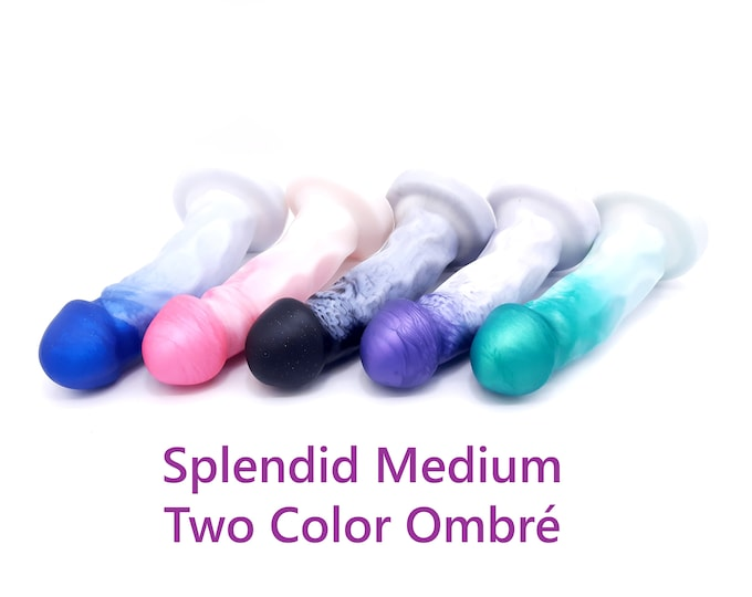 The Splendid Dual Density Medium Size in Two Color Ombré