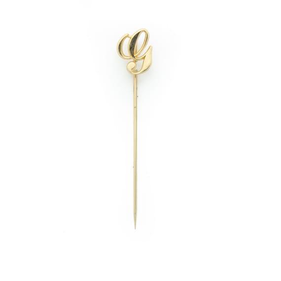 G Tie Stick Pin