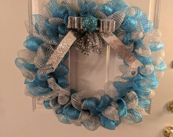 "18"" Winter wonderland wreath"