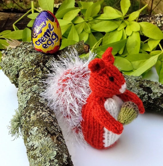 KNITTING PATTERN Flopsy inspired Choc cover Peter Rabbit Easter Creme Egg