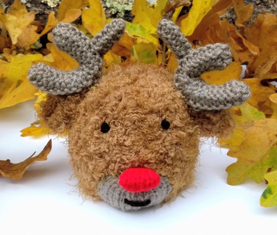 Christmas Knitting Patterns For Ferrero Rocher.Chocolate Orange Cover Knitting Pattern Christmas Knitting Patterns For Toys Rudolph The Red Nosed Reindeer Toy Knitted Cosy Gifts