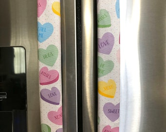 connies creation design Refrigerator Door Handle Covers Set of 4 Mickey and Minnie Mouse Theme 13 L X5 W