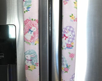 connies creation design Refrigerator Door Handle Covers Set of 4 Classic Christmas Theme 13 L X 5 W