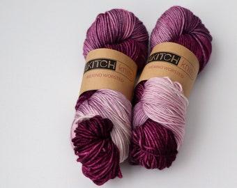 Raspberry | Worsted Weight Yarn | 100% Merino