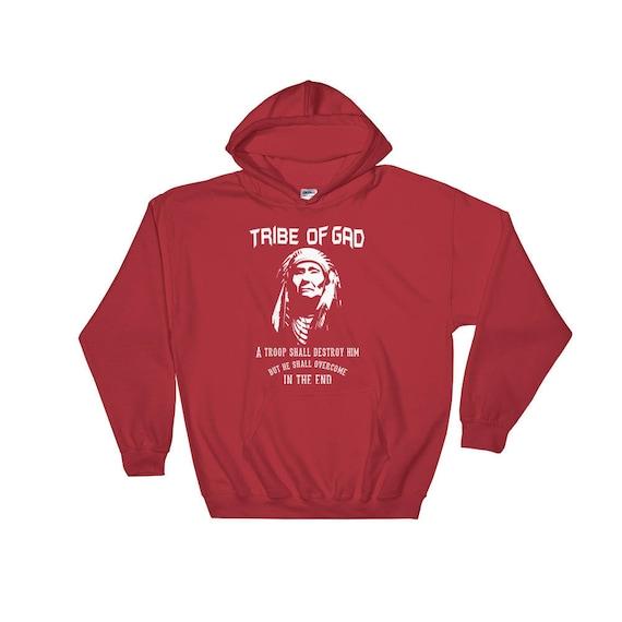 Tribe of Gad Hooded Sweatshirt - Hebrew Israelite clothing